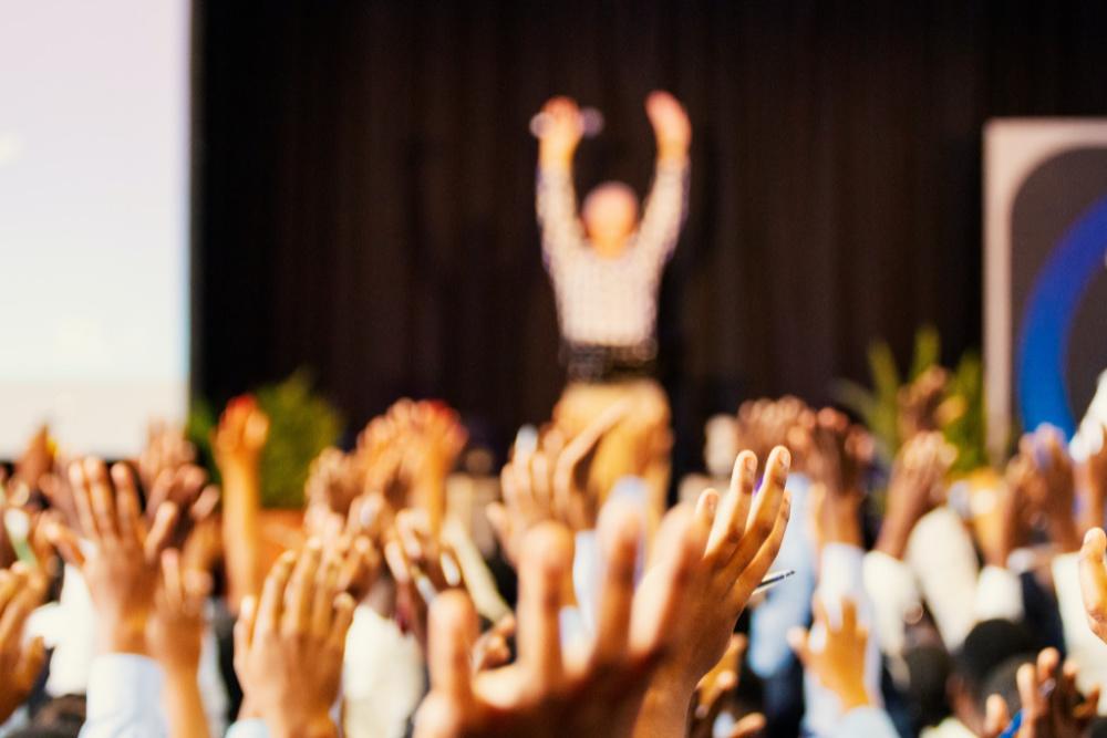 Foredrag med publikum